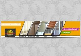 Banner decoratiuni pentru ferestre