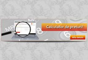 Banner Calculator de preturi