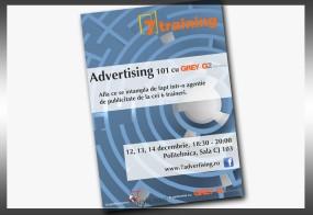 """Afis: """"Advertising 101"""""""