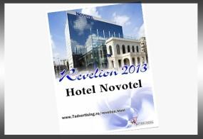 "Afis: ""Revelion Novotel"""