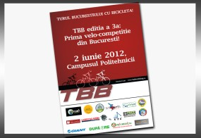 """Afis: """"TBB- Velocompetitie"""""""