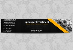 Banner Sundecor Investment Portofoliu